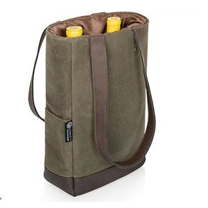 QVC Picnic Time 2 bottle Insulated Cooler Bag NWT